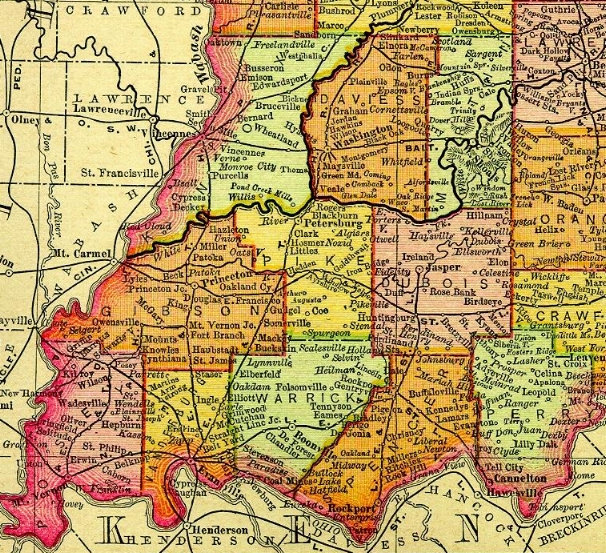 Gibson County Indiana Map.11 Final Destination Princetown Indiana To Preserve Family And Farm